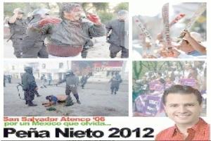 Publica #yosoy132 pasado  oscuro de Televisa y Peña Nieto